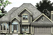 Traditional Style House Plan - 4 Beds 2.5 Baths 2285 Sq/Ft Plan #20-2009 Exterior - Other Elevation