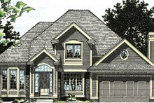 Home Plan Design - Traditional Exterior - Other Elevation Plan #20-2009
