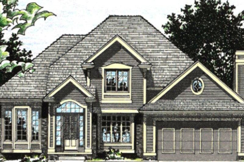 Traditional Exterior - Other Elevation Plan #20-2009 - Houseplans.com