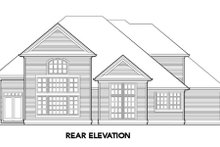 Home Plan - European Exterior - Rear Elevation Plan #48-337