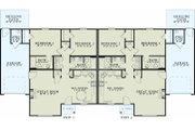 Traditional Style House Plan - 2 Beds 1 Baths 2024 Sq/Ft Plan #17-2433 Floor Plan - Main Floor Plan