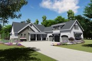Farmhouse Style House Plan - 3 Beds 2.5 Baths 2551 Sq/Ft Plan #1069-18 Exterior - Front Elevation
