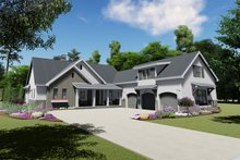 House Design - Farmhouse Exterior - Front Elevation Plan #1069-18