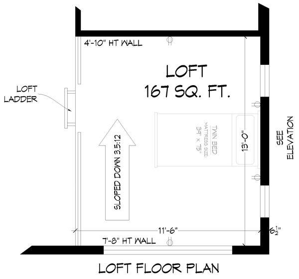 Architectural House Design - Modern Floor Plan - Other Floor Plan #932-393