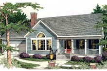 Dream House Plan - Traditional Exterior - Front Elevation Plan #406-246