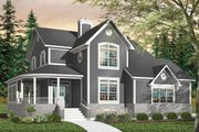 Farmhouse Style House Plan - 4 Beds 2.5 Baths 2099 Sq/Ft Plan #23-748 Exterior - Front Elevation