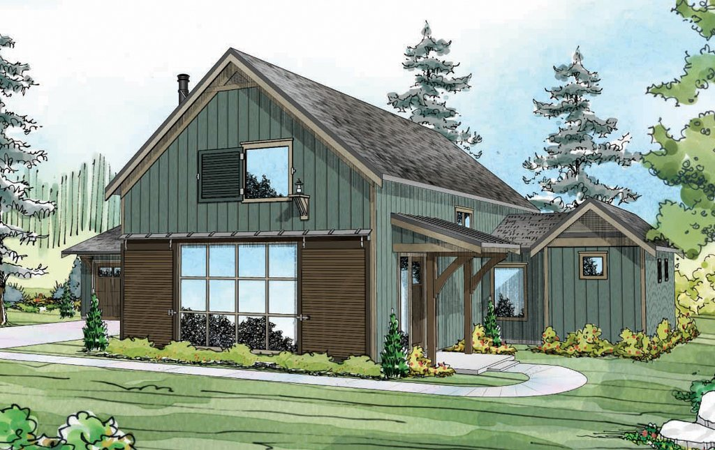 Farmhouse style house plan 3 beds 3 baths 2291 sq ft for Weinmaster house plans