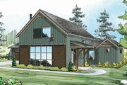Farmhouse Style House Plan - 3 Beds 3 Baths 2291 Sq/Ft Plan #124-901 Exterior - Front Elevation