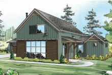 Farmhouse Exterior - Front Elevation Plan #124-901