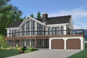 Contemporary Style House Plan - 4 Beds 3 Baths 3105 Sq/Ft Plan #23-2022