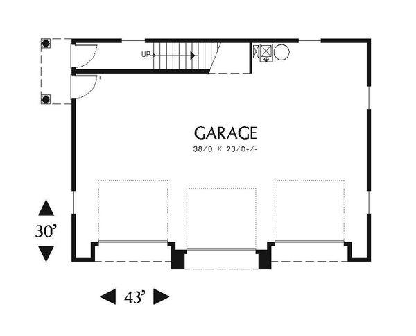 Traditional Floor Plan - Main Floor Plan Plan #48-550