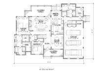 Traditional Floor Plan - Main Floor Plan Plan #1054-23
