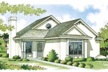 Dream House Plan - Craftsman Exterior - Front Elevation Plan #45-383