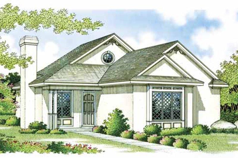 Craftsman Exterior - Front Elevation Plan #45-383