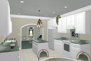 Southern Style House Plan - 3 Beds 2 Baths 1587 Sq/Ft Plan #44-151 Photo