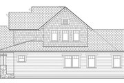 Craftsman Style House Plan - 3 Beds 2.5 Baths 1883 Sq/Ft Plan #453-621 Exterior - Other Elevation