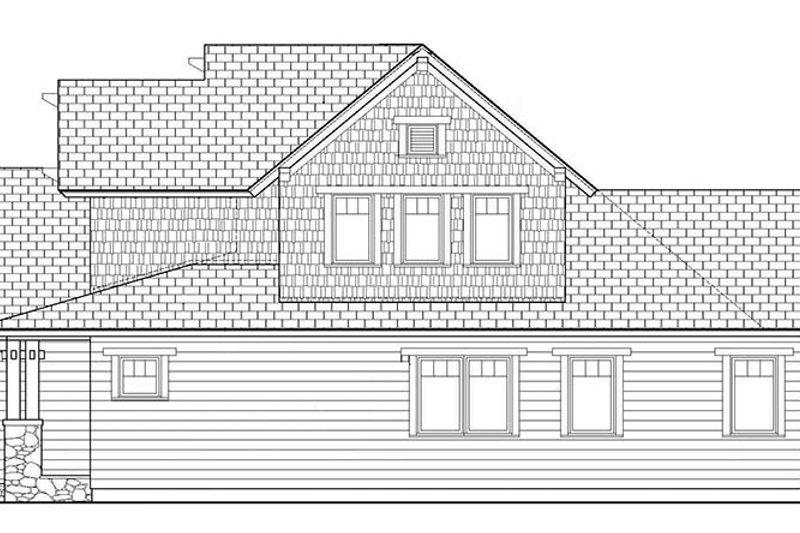 Craftsman Exterior - Other Elevation Plan #453-621 - Houseplans.com