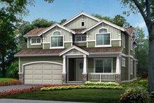 Craftsman Exterior - Front Elevation Plan #132-362