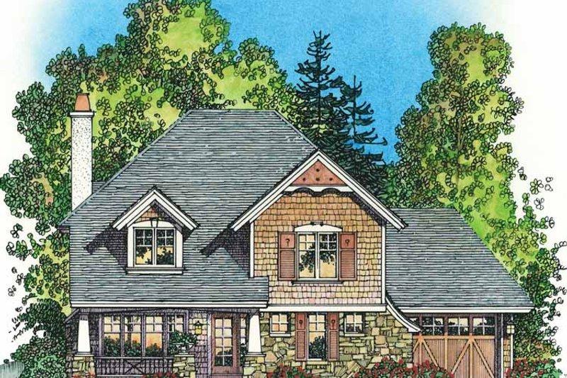 Victorian Exterior - Front Elevation Plan #1016-78 - Houseplans.com