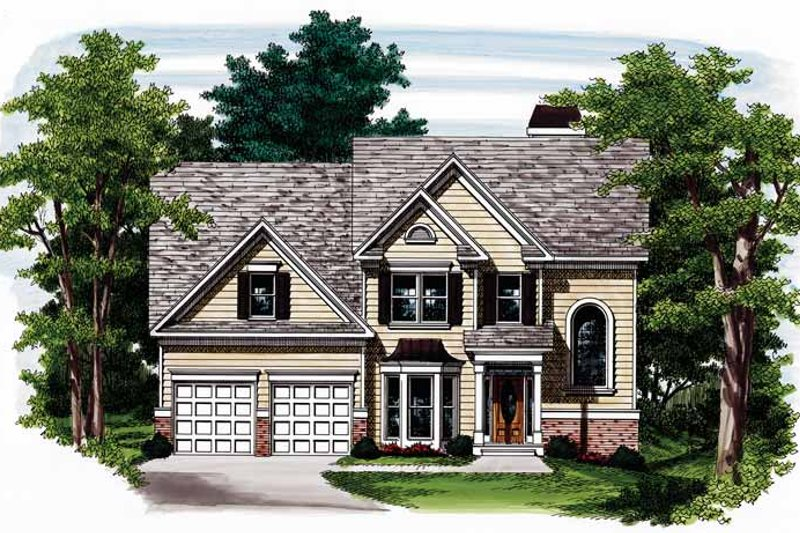 Country Exterior - Front Elevation Plan #927-396 - Houseplans.com
