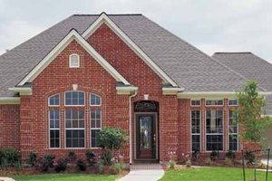 Dream House Plan - Country Exterior - Front Elevation Plan #968-13