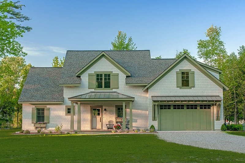 House Plan Design - Craftsman Exterior - Front Elevation Plan #901-138
