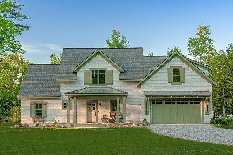 Architectural House Design - Craftsman Exterior - Front Elevation Plan #901-138