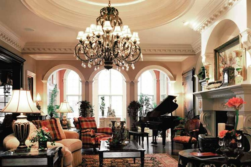 European Interior - Family Room Plan #46-774 - Houseplans.com