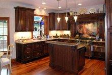 Victorian Interior - Kitchen Plan #314-199