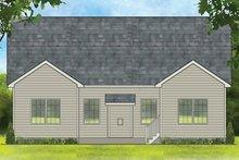 Ranch Exterior - Rear Elevation Plan #1010-181