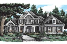 Home Plan - Country Exterior - Front Elevation Plan #927-289