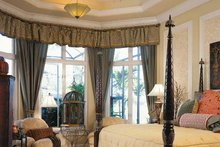 Mediterranean Interior - Master Bedroom Plan #930-311
