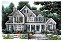 Country Exterior - Front Elevation Plan #927-883