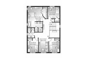 Craftsman Style House Plan - 4 Beds 2.5 Baths 2271 Sq/Ft Plan #23-2483