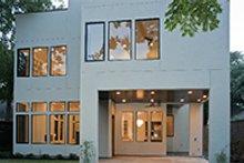 Dream House Plan - Contemporary Exterior - Rear Elevation Plan #1021-12