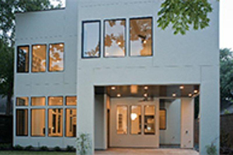Contemporary Exterior - Rear Elevation Plan #1021-12 - Houseplans.com