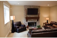 House Plan Design - Classical Interior - Family Room Plan #928-240