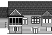 Traditional Style House Plan - 2 Beds 2.5 Baths 2278 Sq/Ft Plan #51-257 Exterior - Rear Elevation