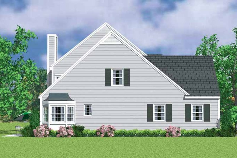 Colonial Exterior - Other Elevation Plan #72-1117 - Houseplans.com