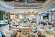 Mediterranean Interior - Family Room Plan #930-448