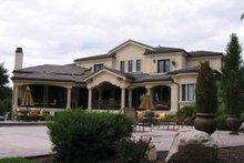 House Design - Mediterranean Exterior - Rear Elevation Plan #937-17