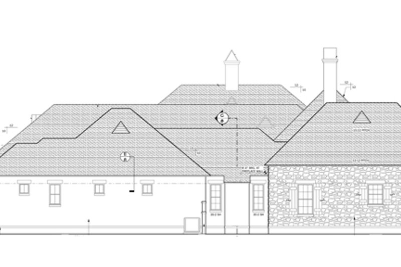 European Exterior - Other Elevation Plan #1058-24 - Houseplans.com