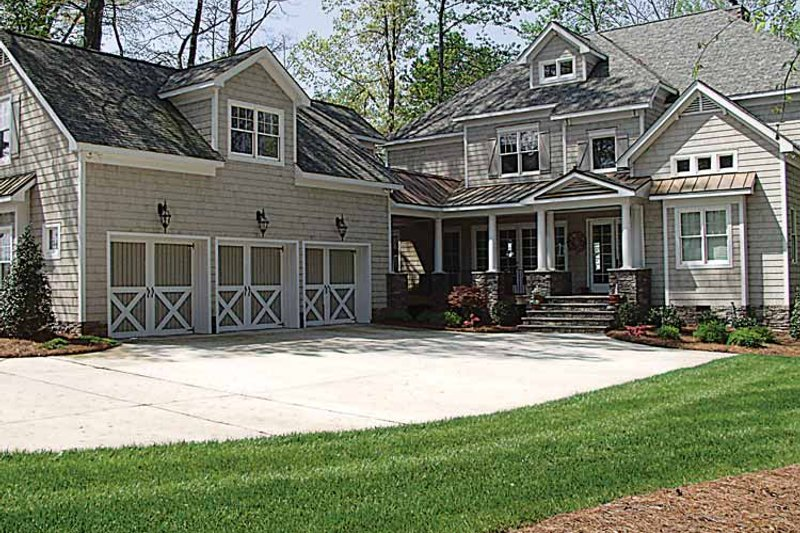 Craftsman Exterior - Front Elevation Plan #453-314 - Houseplans.com
