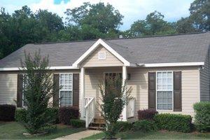 Cottage Exterior - Front Elevation Plan #63-101