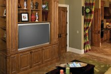 Mediterranean Interior - Family Room Plan #929-900
