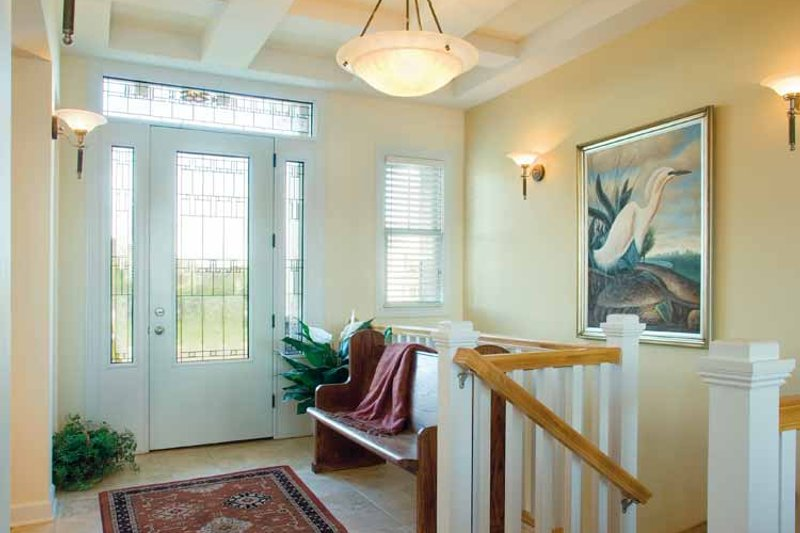Craftsman Interior - Entry Plan #930-356 - Houseplans.com