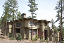 Home Plan - Prairie Exterior - Front Elevation Plan #895-78