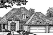 European Style House Plan - 4 Beds 3 Baths 2350 Sq/Ft Plan #310-250 Exterior - Front Elevation