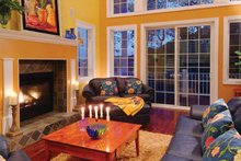 House Plan Design - Traditional Interior - Family Room Plan #930-121