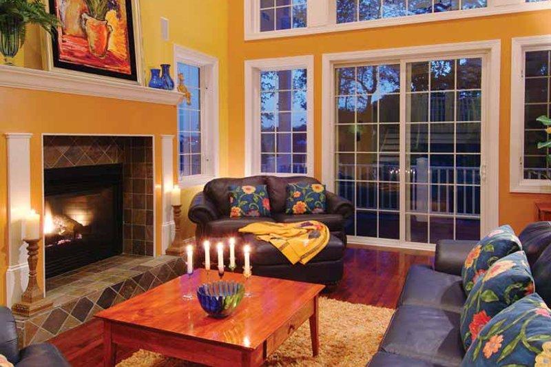 Traditional Interior - Family Room Plan #930-121 - Houseplans.com